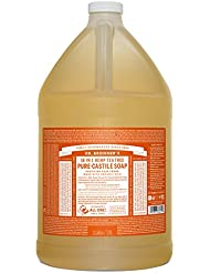 Dr. Bronner's Pure-Castile Liquid Soap - Tea Tree, 1 Gallon