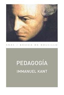 Pedagogía par Kant