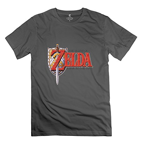 Legend Zelda Link Past Religion 100% Cotton DeepHeather T Shirts For Teenagers Size XL