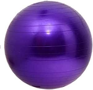 ANTI BURST GYM EXERCISE YOGA FITNESS BALL PREGNANCY BIRTHING 55CM / 65CM Purple