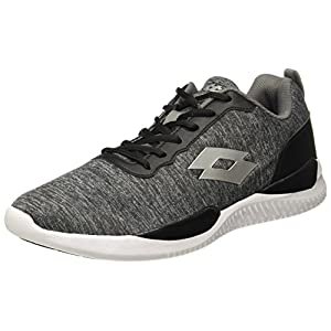 Lotto Men's Downey Blk/Wht Running Shoes-6 UK/India (40 EU) (AL4859-010)