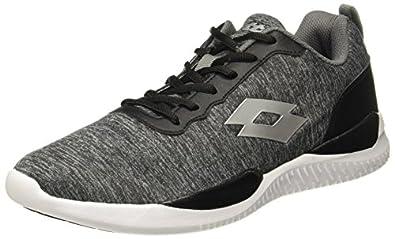 Lotto Men's Downey Blk/Wht Running Shoes-6 UK/India (40 EU) (AL4859-010)