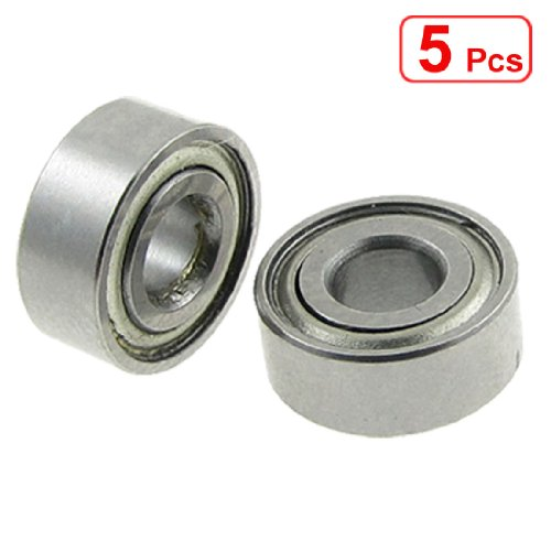 4 Deep Pictures (uxcell 5 Pcs Double Sealed 4 x 10 x 4mm Deep Groove Ball Bearings L-1040)