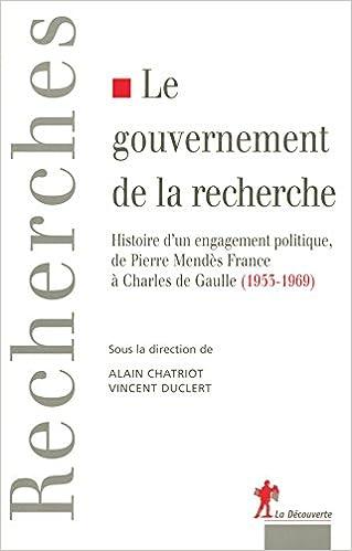 Livres gratuits Le gouvernement de la recherche pdf epub
