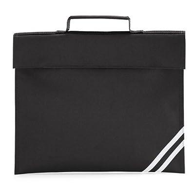 Quadra Classic Book Bag (Colour: Black, Size: ONE) - top-handle-bags