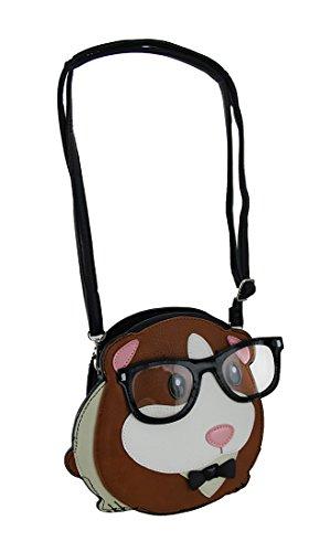 Body Sleepyville Purse Critters Geeky Sleepyville Pig Critters Geeky Cross Guinea Glasses PxzHWwOq
