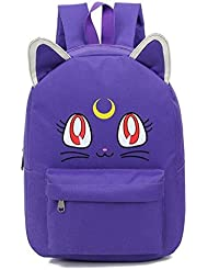 YOYOSHome® Anime Sailor Moon Cosplay Luna Daypack Backpack School Bag (6 Colors)