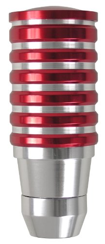 Gear Custom (Custom Accessories 16008 Red Billet Gear Shift Knob)