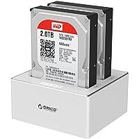 ORICO 6828US3-C Aluminum & Plastic SATA to USB 3.0 Hard Drive Docking Station