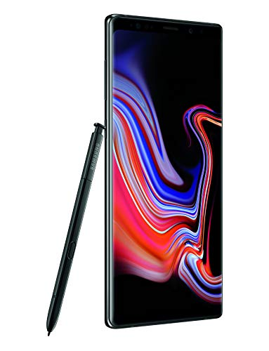 "Samsung Galaxy Note 9 Factory Unlocked Phone With 6.4"" Screen & 128gb (U.s. Warranty), Midnight Black"