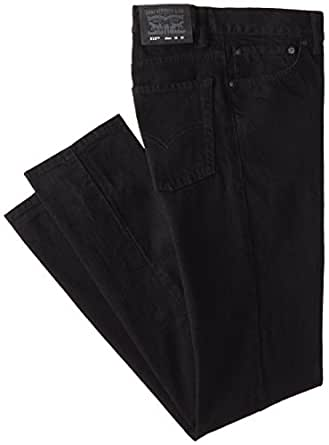 Levi's Big Boys' 510 Skinny Fit Jean, Black Stretch, 14