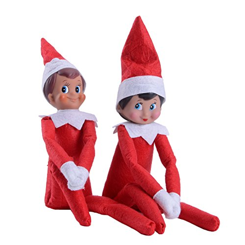 Holiday Elves (CDC Holiday Decor Decorated Dolls One Set(a Girl and a Boy))