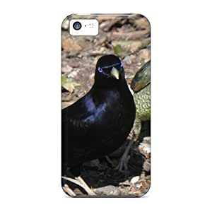 High Quality NeBMKRm7789FmYXE Satin Bower Birds Tpu Case For Iphone 5c by lolosakes