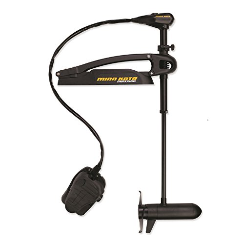 "Minn Kota Maxxum 80 Bow-Mount Trolling Motor with Foot Control and Bowguard (80-lb. Thrust, 42"" Shaft)"