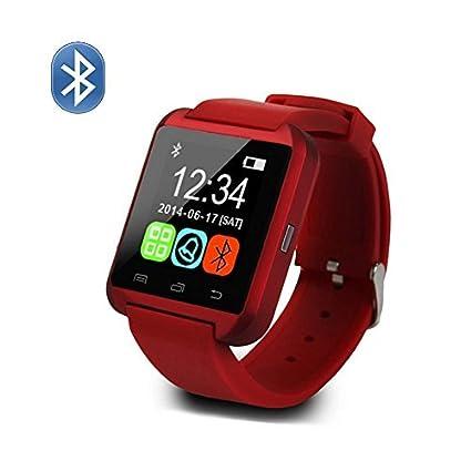 Amazon.com: Generic U8 Reloj Inteligente Bluetooth reloj de ...