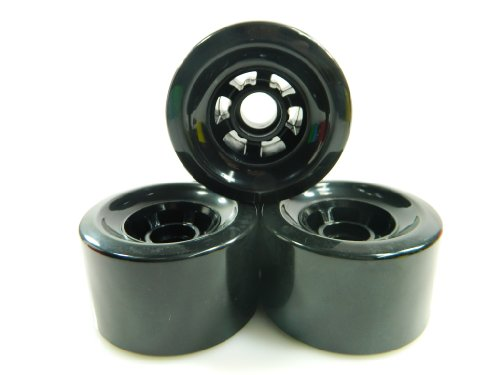 83mm Pro Longboard Cruiser Wheels Flywheels (Black)