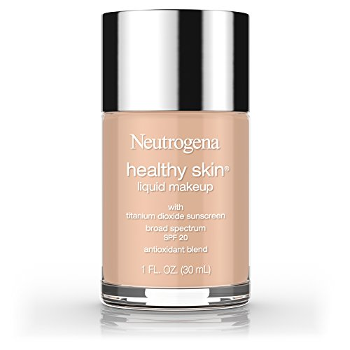 Neutrogena Healthy Skin Liquid Makeup Foundation, Broad Spectrum Spf 20, 100 Natural Tan, 1 Oz.