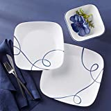 Corelle Service for 6, Chip Resistant Dinnerware