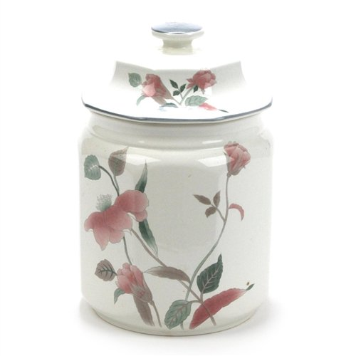 Silk Flowers by Mikasa, China Canister