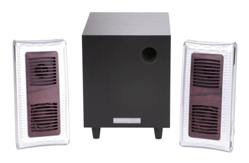 HANNspree Berlin Wood 2.1 Channel Speaker System (KS04-21U1-001) by Hannspree