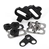 Tbest Bicycle Pedals Cleat Set, Mountain Bike