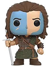 Funko POP Movie : Braveheart - William Wallace 3.75inch Vinyl Gift for War Movies Fans(Without Box) Chibi,10CM
