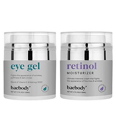 Baebody Eye Gel & Retinol Moisturizer BUNDLE