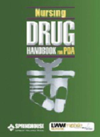 Nursing 2003 Drug Handbook for Pda by LWW Mobile Nursing