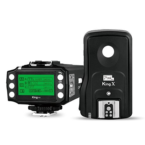 Pixel KingPro CN 3rd Generation Wireless E-TTL Flash Trigger