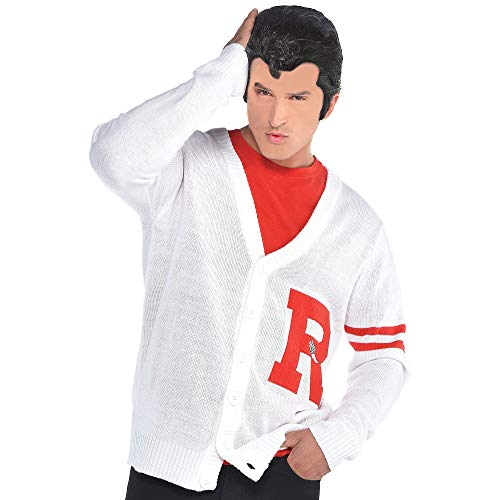 SUIT YOURSELF Mens Grease Rydell Letterman Sweater Costume,