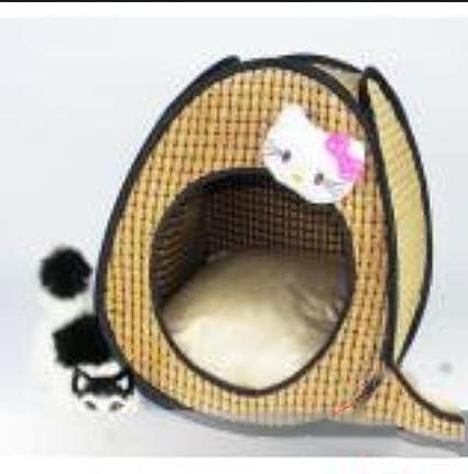 Waa mascotas gato lanzamiento Gatos Gato de accesorios gato dispersa, amarillo, pequeño