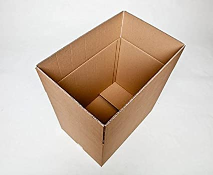 Cajas de cartón para embalaje, Mono S, 96 litros de capacidad, 60 x