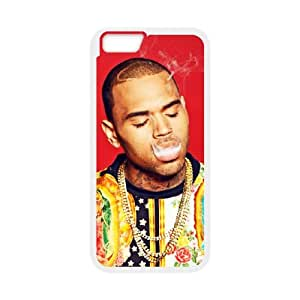 Custom Phone Case Chris Brown For iPhone 6,6S Plus 5.5 Inch A55518