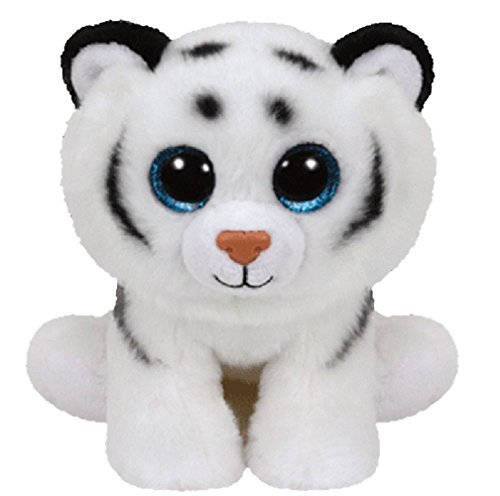 Ty Beanie Baby Classic - Tundra the White Tiger Large Plush by Ty Beanie