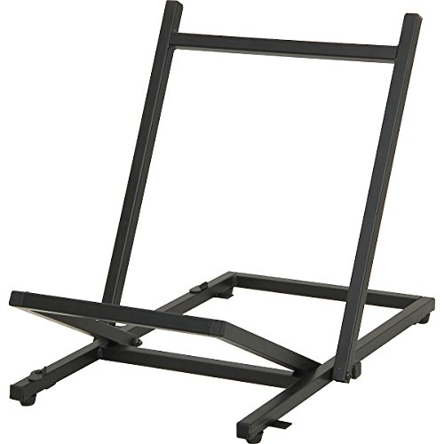 Musician's Gear Large Folding Tiltback Amp Stand Black by Musician's Gear