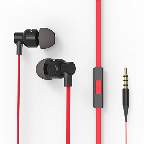 FOU Earbuds Headphones with Mic Earphones Super Bass In-Ear Wired Headsets with Mult-function for Phones MP3 Players and - Roco Suits