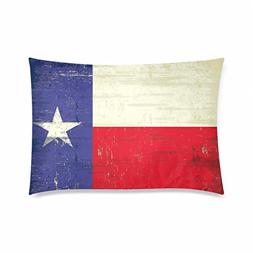 State Flag Pillowcase - Zippered Pillowcase, Pillow Protector, Best Pillow Cover - Queen Size 20x30 inches, One-sided Print ()