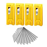 utility blade disposal - Summit Gear Heavy Duty Utility Knife Blades Dispenser SK5 Steel Standard Size 40-pack