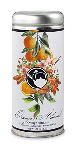 - Orange Almond Tea: All-Natural, Black Tea, Spice & Almonds Gluten Free, 24 servings