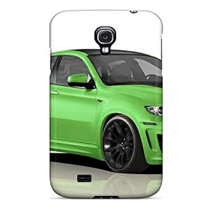 Pretty FXC2068jFIU Galaxy S4 Cases Covers/ Green Bmw X6 M Series High Quality Cases