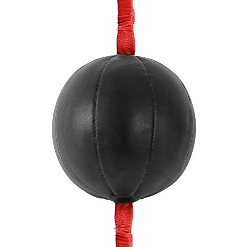 Pugilism Velocity Evade Orb - Double Boxing Training Ball Workout Fitness Punching Equipment - Amphetamine Scheme Globe Cannonball Hasten Parry Testi Packing Accelerate Elude - 1PCs by Unknown