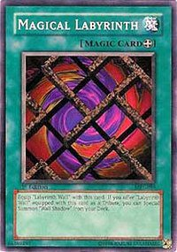 YuGiOh Magic Ruler Magical Labyrinth MRL-059 Common [Toy]