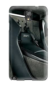 Galaxy Note 3 Hard Back With Bumper Silicone Gel Tpu Case Cover Lamborghini Reventon Image