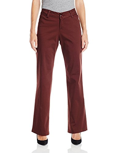 (Lee Women's Modern Series Curvy Fit Maxwell Trouser, Allspice, 8)