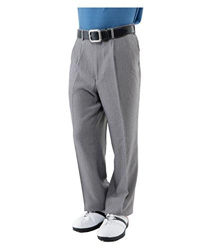 ヒロタ メンズ ゴルフ パンツ 杢ツイル2Tスラックス 822634 BK 85