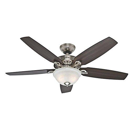 Heathrow 52 in. Brushed Nickel Ceiling Fan