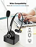 Bluetooth Headset with Microphone,Sanfant V5.0