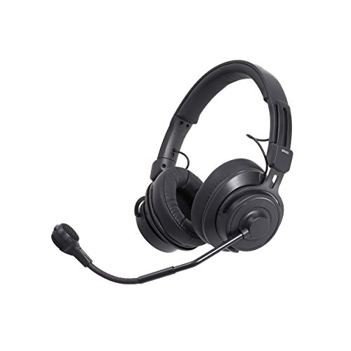 - Audio-Technica BPHS2 Broadcast Stereo Headset with Hypercardioid Dynamic Boom Microphone