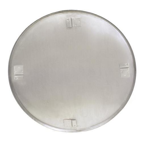 Kraft Tool Company SK420, 24'' Edger Float Pan, 90 Degrees Lip