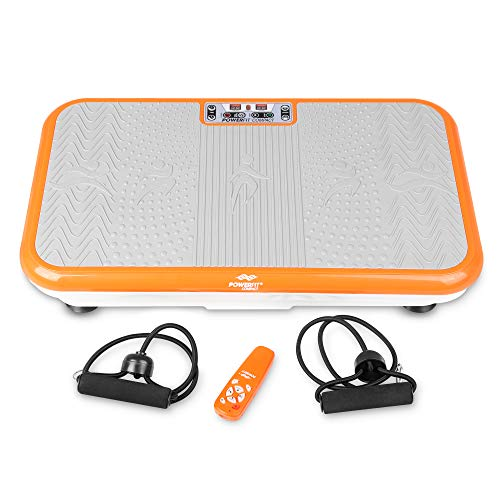 Power Fit Whole Body Vibration Exercise Platform - Whole Body Vibrating Machine - Fitness Equipment for Home Gym - Vibration and Exercise Step Platform - Workout Enhancer